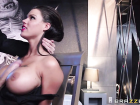 Peta Jensen in handcuffs heavily fucked by giant cock of Danny D