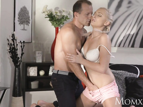 Hot mommy Angelina Armani and sex God George Uhl fuck each other