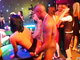 Casino turns into whorehouse with wild orgy fuck party