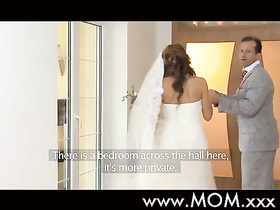 Horny dude is fucking his beautiful bride